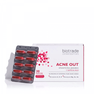 biotrade ACNE OUT Supplement with Brewer's Yeast 30 capsules
