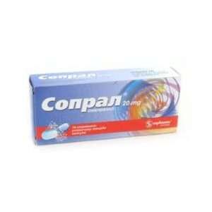 Sopral Omeprazole 20 mg 14 tablets